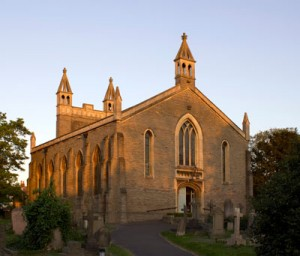 Christ Church at sunset