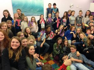 Ignite and Ignite+ on Thursday evenings at the Youth Hub group photo