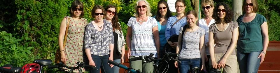 Ladies' bike ride