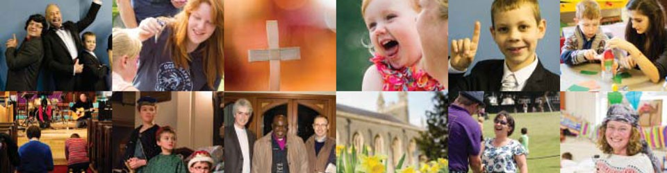 Photo montage from the Christ Church Downend Annual Report 2014