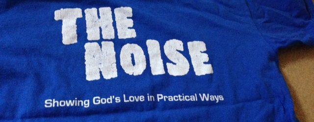 The Noise t-shirt