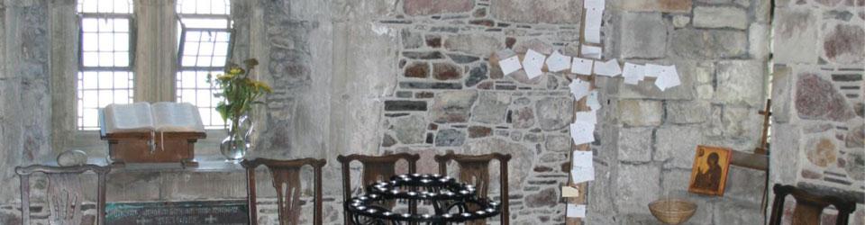 Interior of Iona Abbey