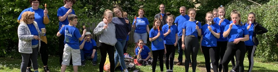 Youth from Christ Church litter picking
