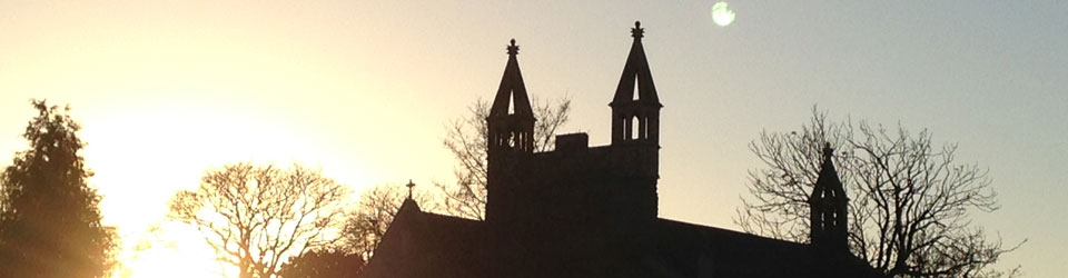 Sunrise over-Christ-Church-Downend