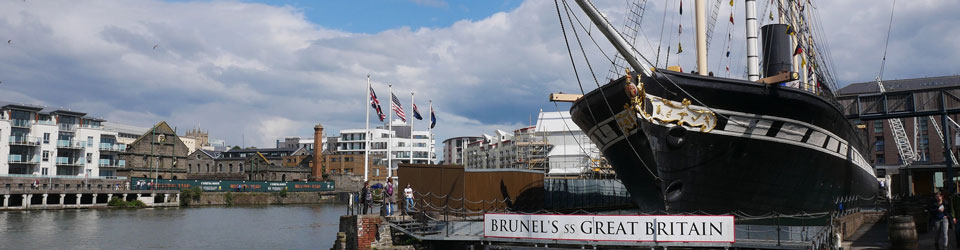 The ss Great Britain in the Bristol Docks
