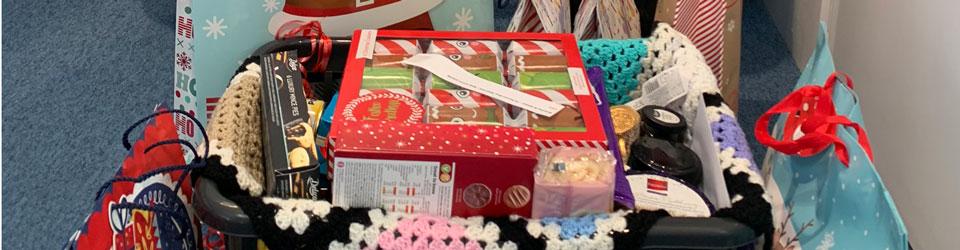 CAP Christmas hamper for clients in Bristol