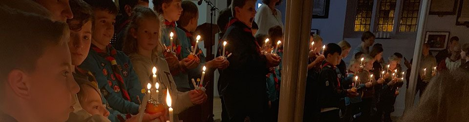 Christingle service at Christ Church 2018