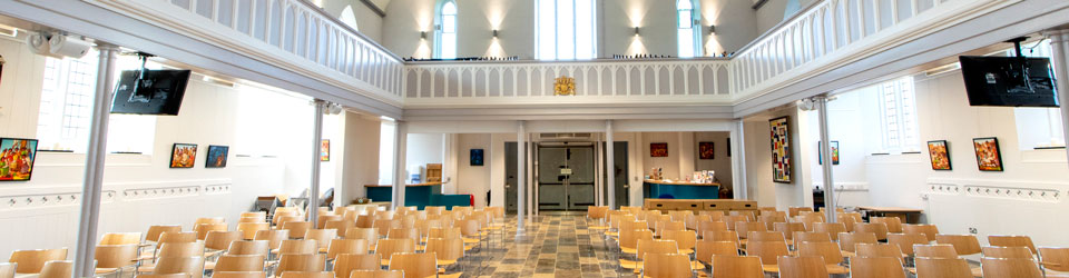 Interior of the newly refurbished Christ Church Downend