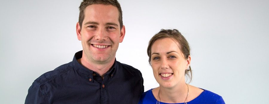 A photo of Ben and Katy Ray.